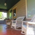 Relax on the Front Porch | Monteillet Fromagerie