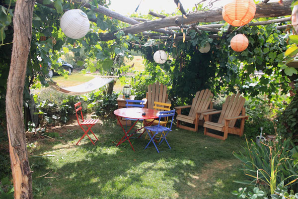 Shaded Chairs And Hammock Beckon - Photo by Cameron Riley (Pastry Ninja Photography)
