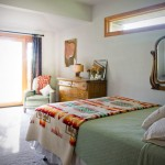 Bedroom - The Gite (Holiday Home) Photo by Steve Scardina.
