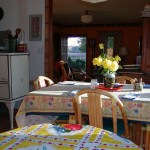 Photo of Dining Table with Flowers in The Gite (Holiday Home)