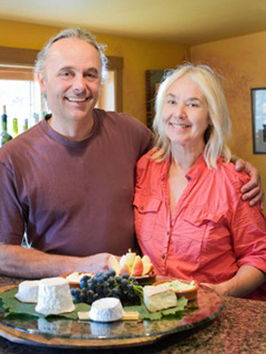 Joan & Pierre Monteillet, photo by Pete Perry, The Oregonian