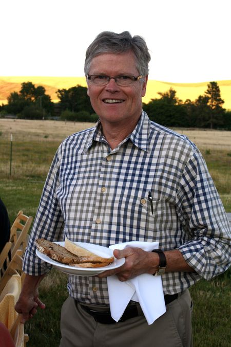 photo of the breadmaker—2011 Outstanding in the Field Dinner—photo by The Farm Chicks