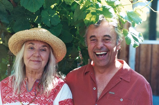 Photo: Joan and Pierre-Louis Monteillet from Wanderlust and Lipstick blog