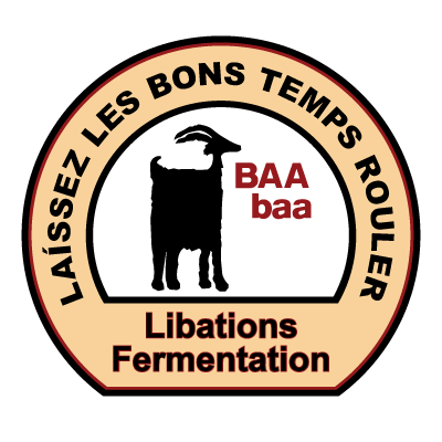 BAA baa Libations, Fermentation | Let the Good Times Roll | Monteillet Cheese
